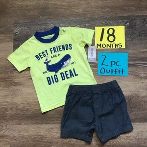 Matching Sets - NWT Carter's 2pc 18 Month Outfit